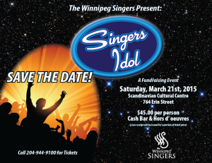 The Winnipeg Singers Present: