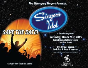 The Winnipeg Singers Present: